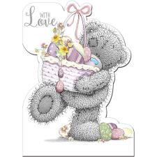 With Love Me to You Bear Easter Card