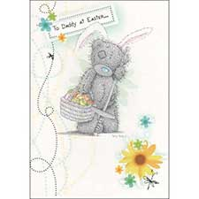 Daddy Easter Me to You Bear Card