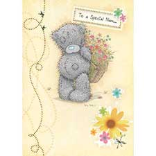 Special Nan Easter Me to You Bear Card