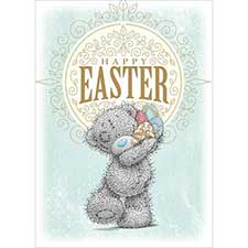 Tatty Teddy With Eggs Me to You Bear Easter Card