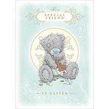 Special Friend Me to You Bear Easter Card