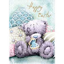 Tatty Teddy With Egg Me to You Bear Easter Card