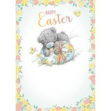 Happy Easter Tatty Teddy On Egg Me to You Bear Easter Card