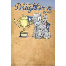 Daughter and Son in Law Me to You Bear Fathers Day Card