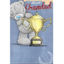 Brilliant Grandad Me to You Bear Fathers Day Card