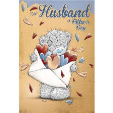 To My Husband Me to You Bear Fathers Day Card