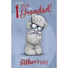 Grandad 1st Year Me to You Bear Fathers Day Card
