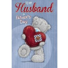 Husband Me to You Bear Fathers Day Card