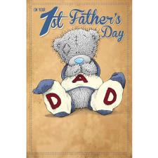 1st Fathers Day Me to You Bear Fathers Day Card