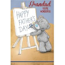Grandad You're Wonderful Me to You Bear Fathers Day Card