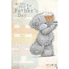 First Fathers Day Me to You Bear Card