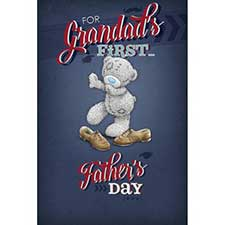 Grandads 1st Father Day Me to You Bear Card
