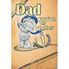 No.1 Day Me to You Bear Fathers Day Card