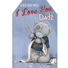 I Love You Dad Me to You Bear Fathers Day Card