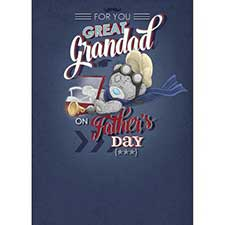 Great Grandad Me to You Bear Father Day Card