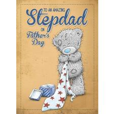 Amazing Stepdad Me to You Bear Fathers Day Card