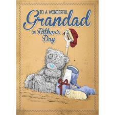 3D Holographic Grandad Me to You Bear Fathers Day Card