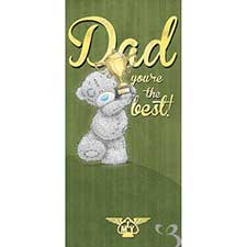 Best Dad Me to You Bear Father's Day Card