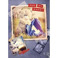 Daddy Me to You Bear Fathers Day Card