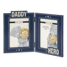 My Daddy My Hero Me to You Bear Double Photo Frame