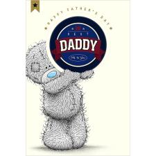 Best Daddy Me To You Bear Fathers Day Card With Beer Mat