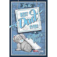 Best Dad Ever Me To You Fathers Day Card With Beer Mat