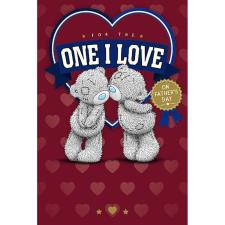 One I Love Me To You Bear Father Day Card