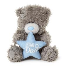 "4"" Star Dad Padded Heart Me to You Bear"