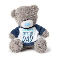 "4"" World's Greatest Dad T-Shirt Me to You Bear"