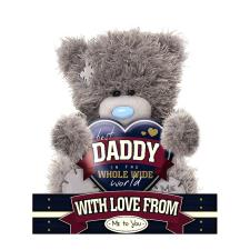 "7"" Best Daddy Heart Me To You Bear"
