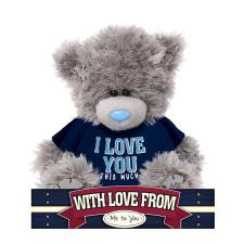 "7"" Love You This Much T Shirt Me to You Bear"