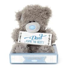 "7"" Holding Dad Sign Me to You Bear"