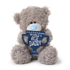 "7"" World's Best Daddy Trophy Me to You Bear"