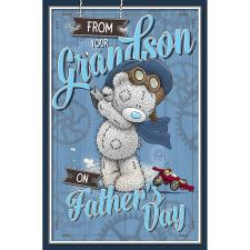 From Your Grandson Me To You Fathers Day Card