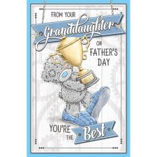 From Your Granddaughter Me to You Fathers Day Card