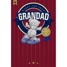 Grandad Me To You Bear Father Day Card