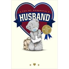 Husband Me To You Bear Father Day Card