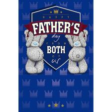 From Both Of Us Me To You Bear Father Day Card
