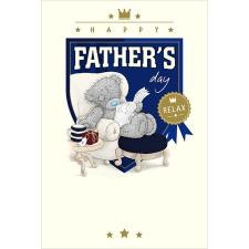 Relaxing Bear Me To You Bear Father Day Card
