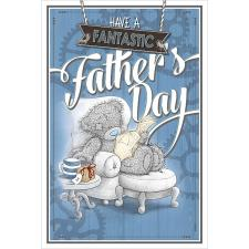 Tatty Teddy Reading Newspaper Me to You Fathers Day Card