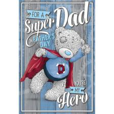 Super Dad Me to You Fathers Day Card