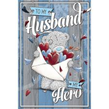 Hero Husband Me to You Bear Fathers Day Card