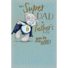 Super Dad Me to You Bear Father's Day Card
