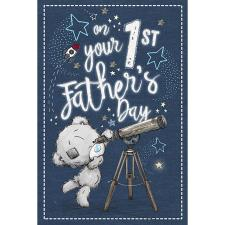 On Your 1st Fathers Day Me to You Bear Fathers Day Card