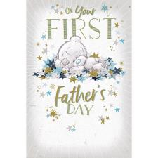 1st Father's Day Tiny Tatty Teddy Me to You Bear Father's Day Card