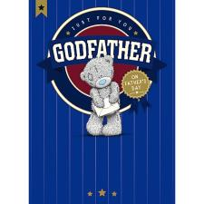 Godfather Me To You Bear Fathers Day Card