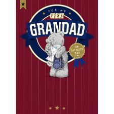 Great Grandad Me To You Bear Fathers Day Card