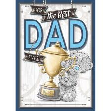 Best Dad Ever Me to You Bear Fathers Day Card