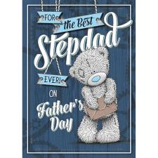 Best Stepdad Me to You Bear Fathers Day Card