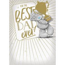 Best Dad Ever Me to You Bear Father's Day Card